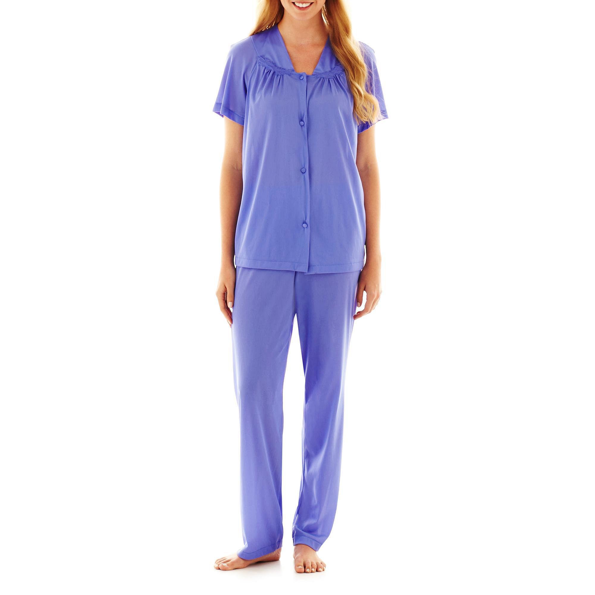 """Vanity Fair Coloratura"""" Pajama Set - 90107 - Plus"""