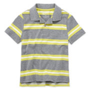 Arizona Short-Sleeve Striped Polo Shirt – Boys 4-7