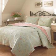 Waverly® Garden Glitz Reversible Quilt & Accessories