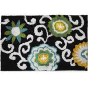 Waverly® Pom Pom Bath Rug
