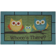Mohawk Home® Bright Eyed Owls Doormat