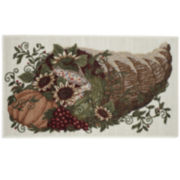 Horn of Plenty Holiday Rug