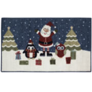 Santa & Friends Holiday Rug