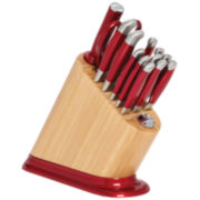 KitchenAid® 14-pc. Stainless Steel Iconic Knife Set