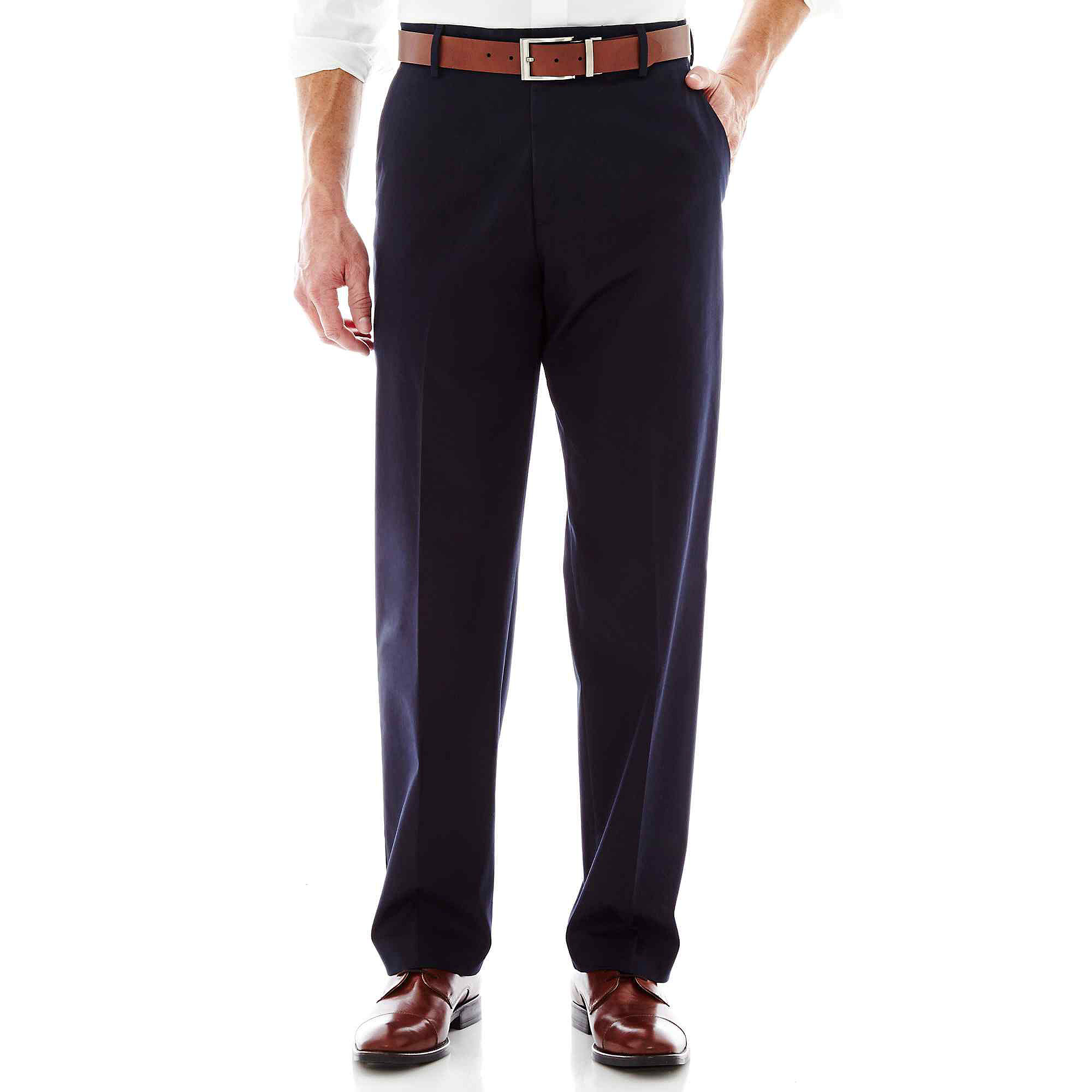 Dockers Iron-Free Relaxed-Fit Flat-Front Pants