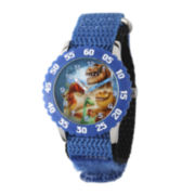 Disney® The Good Dinosaur Boys Blue and Black Strap Watch