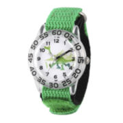 Disney® The Good Dinosaur Boys Green Strap Watch