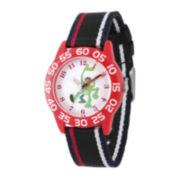 Disney® The Good Dinosaur Boys Red and Black Strap Watch