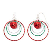 Mixit™ Red Bell Drop Earrings