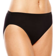 Ambrielle® Cotton High-Cut Panties