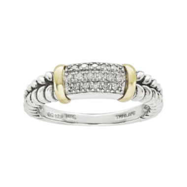 jcpenney.com | Shey Couture 1/8 CT. T.W. Diamond Sterling Silver Ring