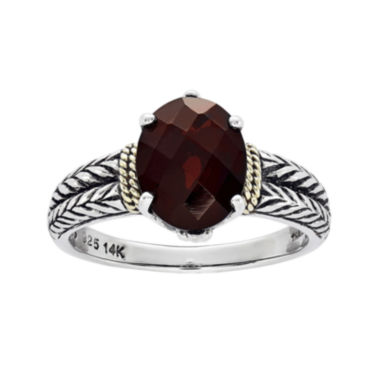 jcpenney.com | Shey Couture Genuine Garnet Sterling Silver Ring
