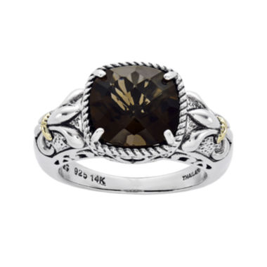 jcpenney.com | Shey Couture Smoky Quartz Sterling Silver Antiqued Ring