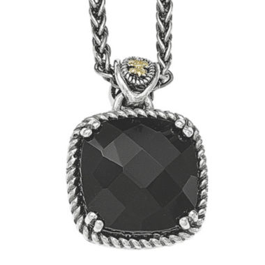 jcpenney.com | Shey Couture Genuine Onyx Sterling Silver Pendant Necklace