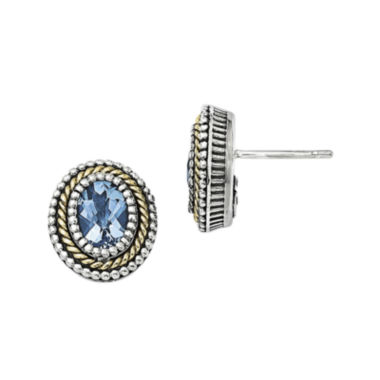 jcpenney.com | Shey Couture Genuine Blue Topaz Sterling Silver Earrings
