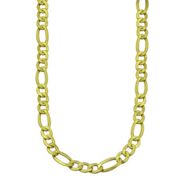 "jcpenney.com | LIMITED QUANTITIES! 10k Yellow Gold Solid Figaro 22"" Chain Necklace"