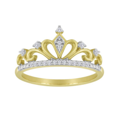 jcpenney.com | 1/10 CT. T.W. Diamond Crown Ring