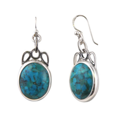 jcpenney.com | Art Smith by BARSE Genuine Turquoise Drop Earrings