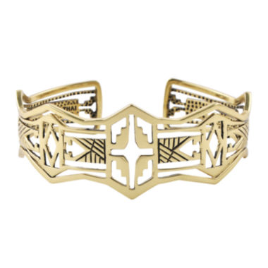 jcpenney.com | Art Smith by BARSE Brass Cutout Cuff Bracelet