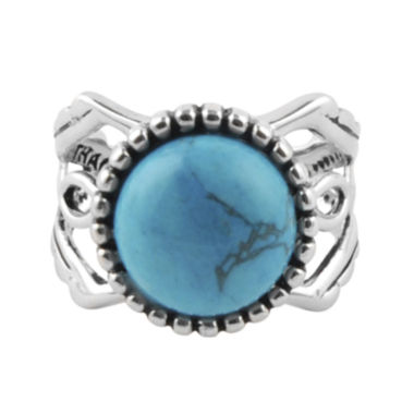 jcpenney.com | Art Smith by BARSE Genuine Turquoise Silver Over Brass Ring
