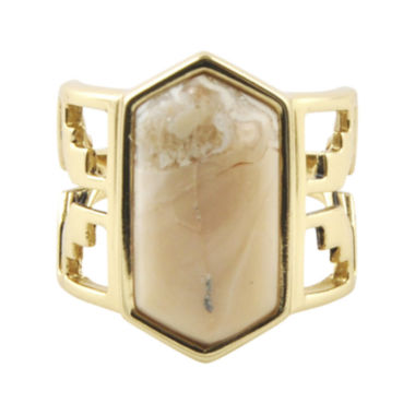 jcpenney.com | Art Smith by BARSE Lab-Created African Opal Brass Ring