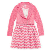 Knit Works Moto Jacket and Dress - Girls 7-16