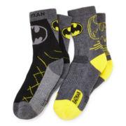 2-pk. Batman Athletic Crew Socks - Boys