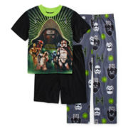 Star Wars™ 3-pc. Pajama Set - Boys 4-12