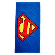 Superman Logo Towel