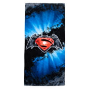 Batman vs. Superman Logo Towel