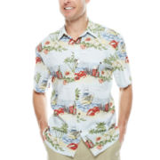 Island Shores™ Rayon Printed Camp Shirt