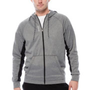 Reebok® Workout Ready Fleece Full-Zip Hoodie