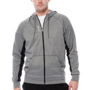 Reebok® Workout Ready Fleece Full-Zip Hoodie