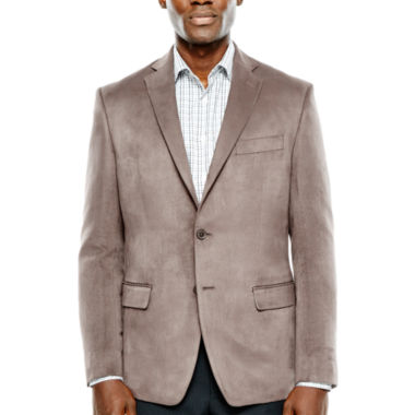 Collection by Michael Strahan Faux-Suede Sport Coat - Classic Fit ...