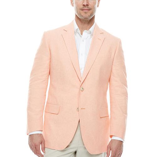 Stafford Linen-Cotton Sport Coat