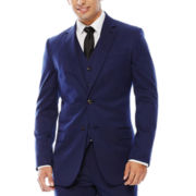JF J. Ferrar® Bright Blue Suit Jacket – Super Slim