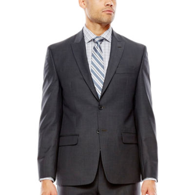 Collection by Michael Strahan Mini-Herringbone Suit Jacket - Classic Fit