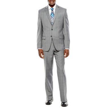 jcpenney.com | Collection by Michael Strahan Gray Windowpane Suit Separates - Classic Fit