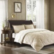 Buffalo Creek Faux-Suede Down Alternative Comforter Mini Set