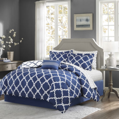 jcpenney.com | Madison Park Essentials Cole Complete Bedding Set with Sheets