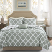Madison Park Essentials Clayton 4-pc. Reversible Coverlet Set