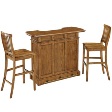 jcpenney.com | Bransford Bar with 2 Barstools