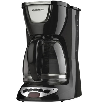 Black & Decker 1 Cup Coffee Maker Dcm 25 Review : Black+Decker DCM100B 12-Cup Programmable Coffee Maker DCM100B - JCPenney