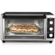 Black+Decker Wide Toaster Oven