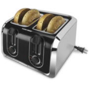 Black+Decker Stainless Steel Toaster
