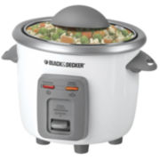 Black+Decker 3-Cup Rice Cooker