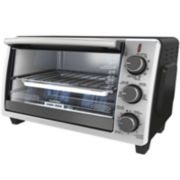 Black+Decker 6-Slice Convection Toaster Oven