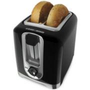 Black+Decker Two-Slice Toaster