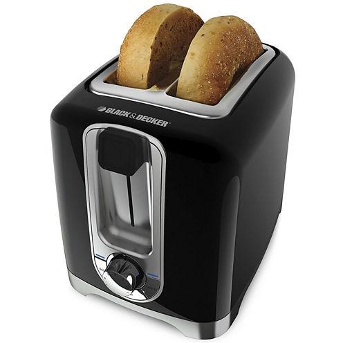 Black+Decker TR1256B Two-Slice Toaster