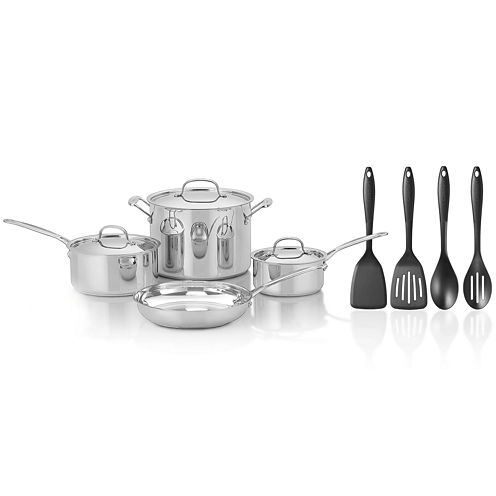 Cuisinart® Chef's Classic™ 11-pc. Stainless Steel Cookware Set + BONUS Utensils